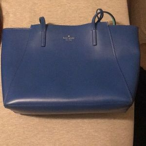 Great condition blue Kate spade purse